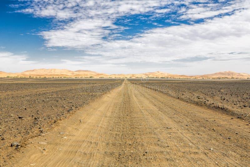 Paysage marocain typique image libre de droits