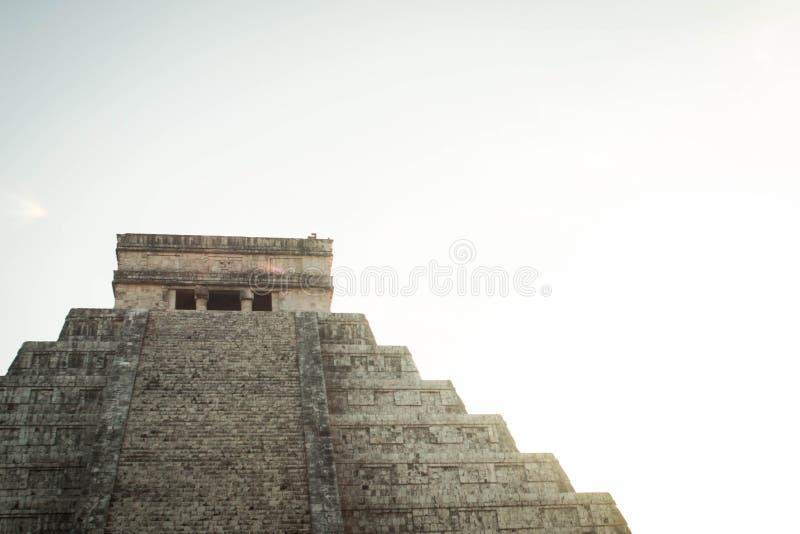 Paysage maya image stock