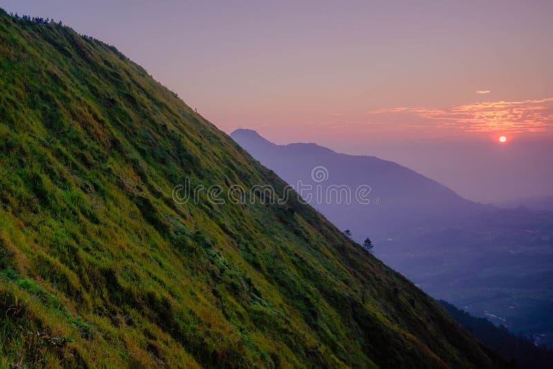 Paysage merveilleux de Mt Andong photographie stock libre de droits