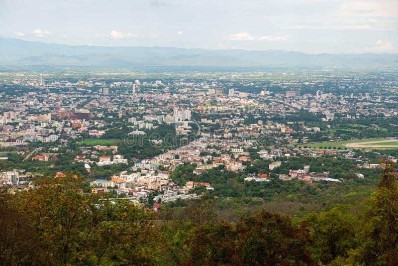 Paysage municipal de la province de Chiangmai photos libres de droits