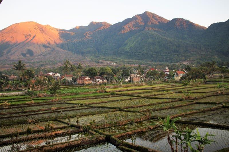 Paysage naturel dans Garut, Java occidental - Indonésie images stock
