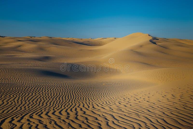 Paysage naturel de désert, dunes de sable images stock
