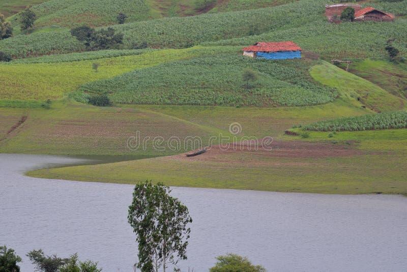 Paysage naturel de zone rurale image libre de droits