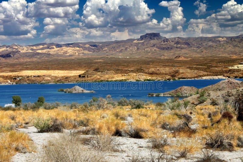 Paysage Nevada de Mohave de lac photo libre de droits
