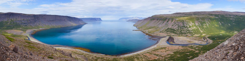 Paysage occidental de l'Islande photos stock