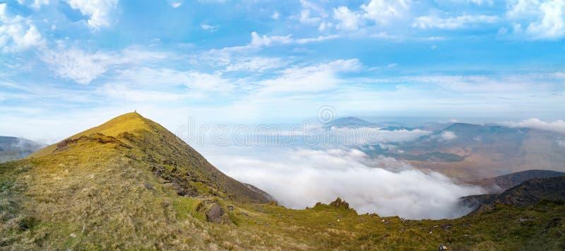 Paysage panoramique de Brandon Mount au printemps image libre de droits
