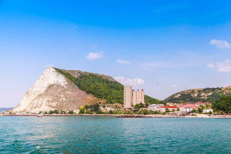 Paysage panoramique de Kavarna, Bulgarie photos stock