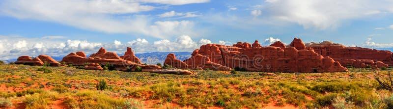 Paysage panoramique de parc national de voûtes image libre de droits