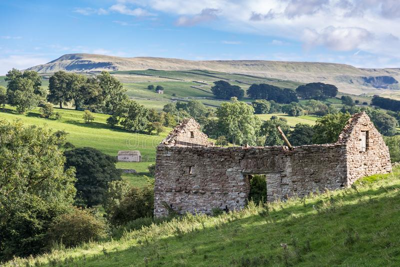 Paysage près de Kirkby Stephen, Cumbria, R-U images stock