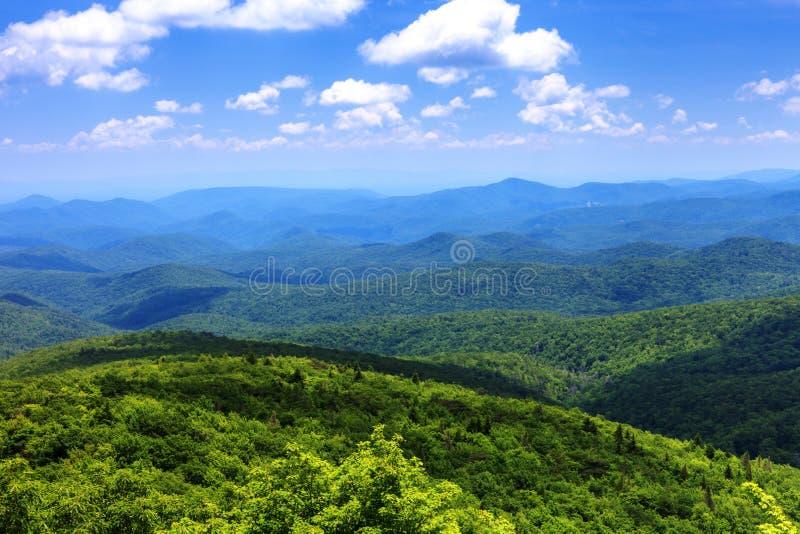 Paysage Ridge Mountains Western bleu OR images stock