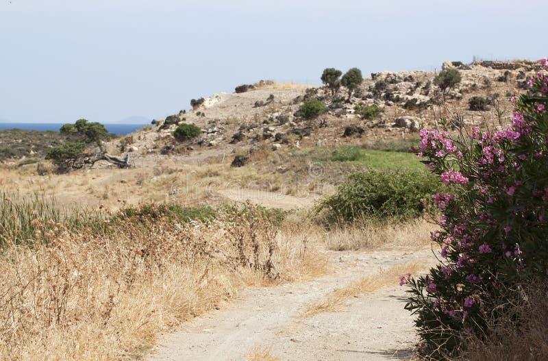 Paysage rural grec photos libres de droits