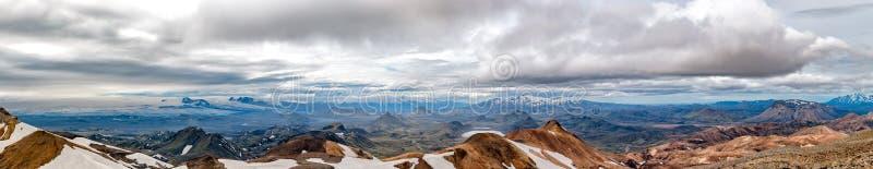 Paysage sauvage de voyage de l'Islande Landmannalaugar image stock