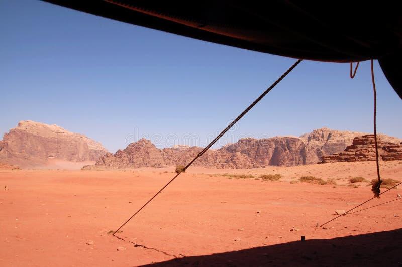 Paysage sauvage de Wadi Rum Jordan photo libre de droits