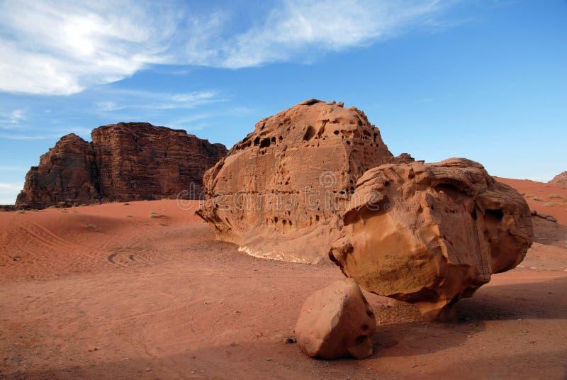 Paysage sauvage de Wadi Rum Jordan photographie stock libre de droits