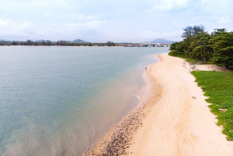 Paysage scénique de grand barrage de rivière et de réservoir avec la forêt de montagne et de nature photos libres de droits