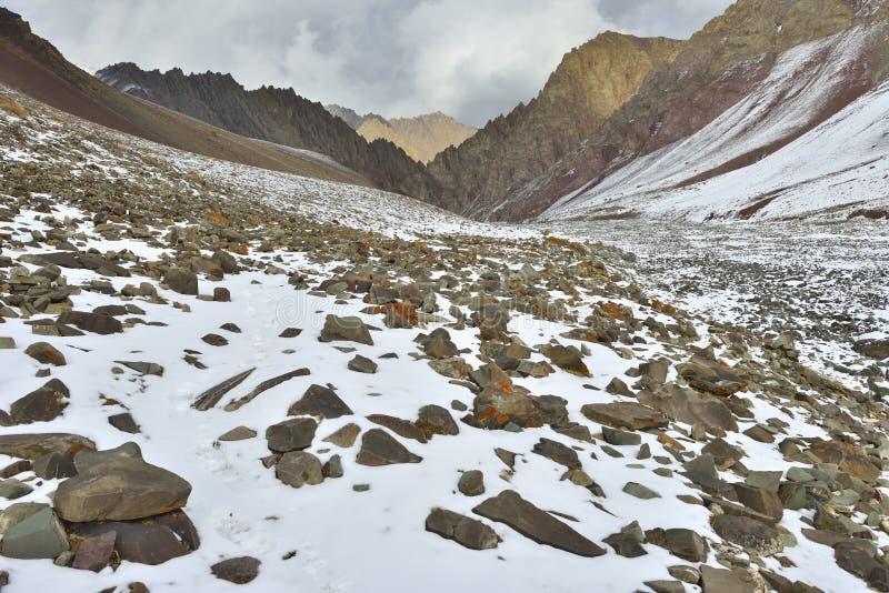 Paysage scénique de l'Himalaya photo libre de droits