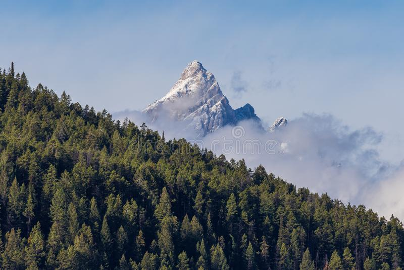 Paysage scénique de Teton photo libre de droits