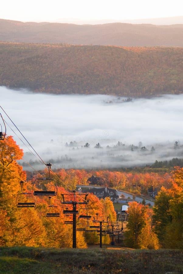 Paysage spectaculaire d'automne photographie stock libre de droits