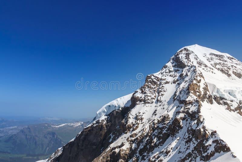 Paysage suisse de montagne d'Alpes, Jungfrau, Suisse photos libres de droits