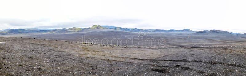 Paysage sur l'île photo stock