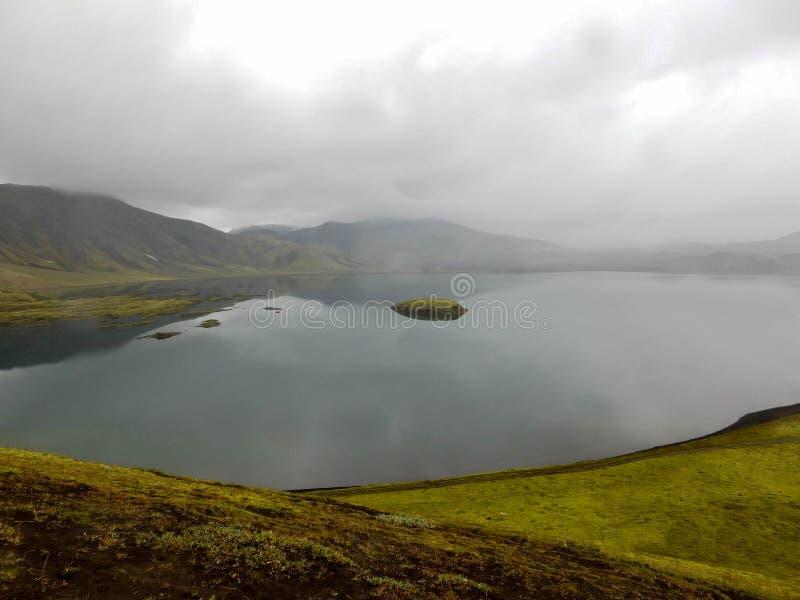 Paysage sur l'île images libres de droits