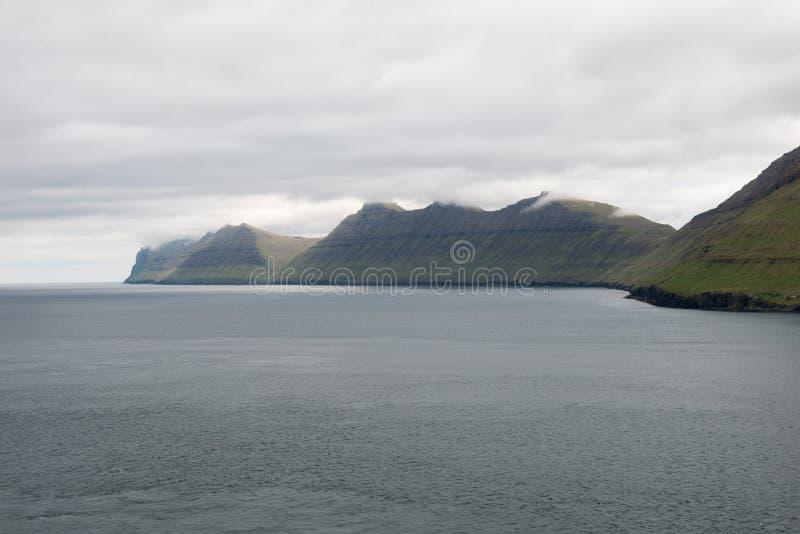 Paysage sur les Iles Féroé photographie stock
