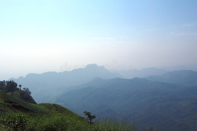 Paysage Thaïlande de vallée de montagne photo libre de droits