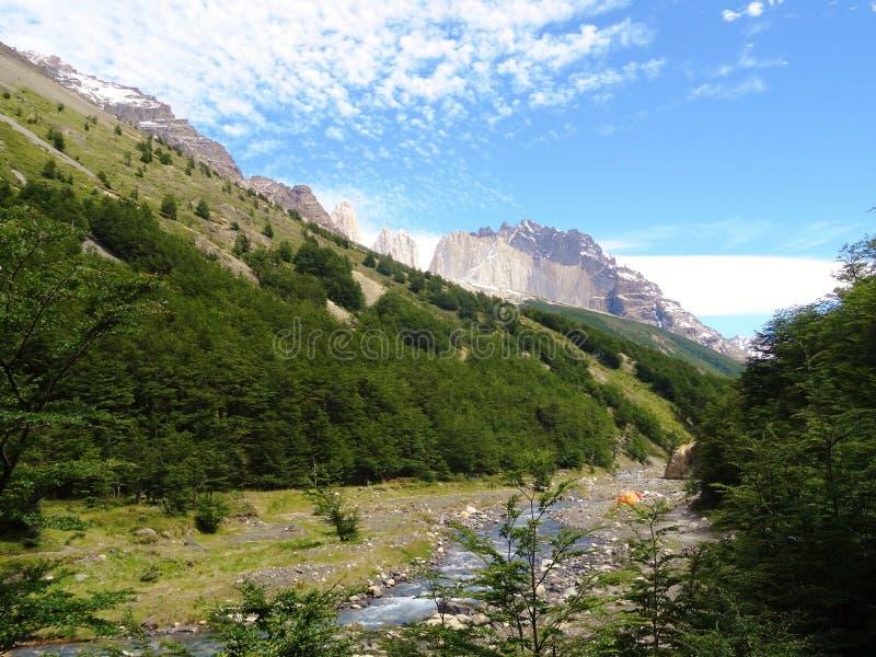 Paysage - Torres del Paine, Patagonia, Chili photos libres de droits
