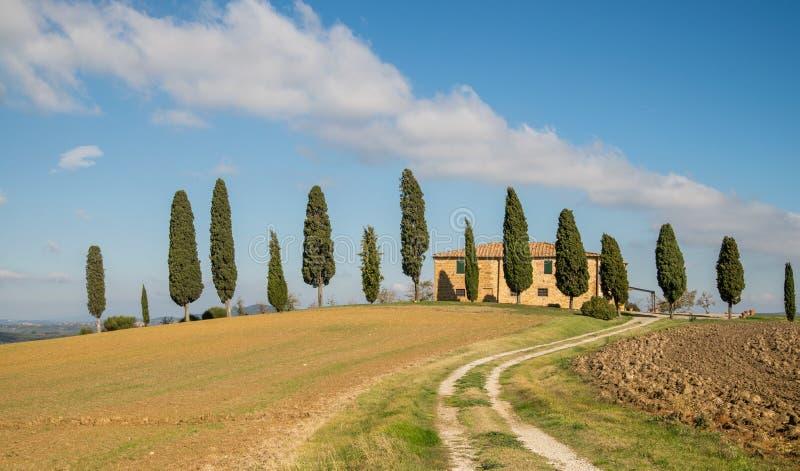 Paysage toscan de pays photos libres de droits