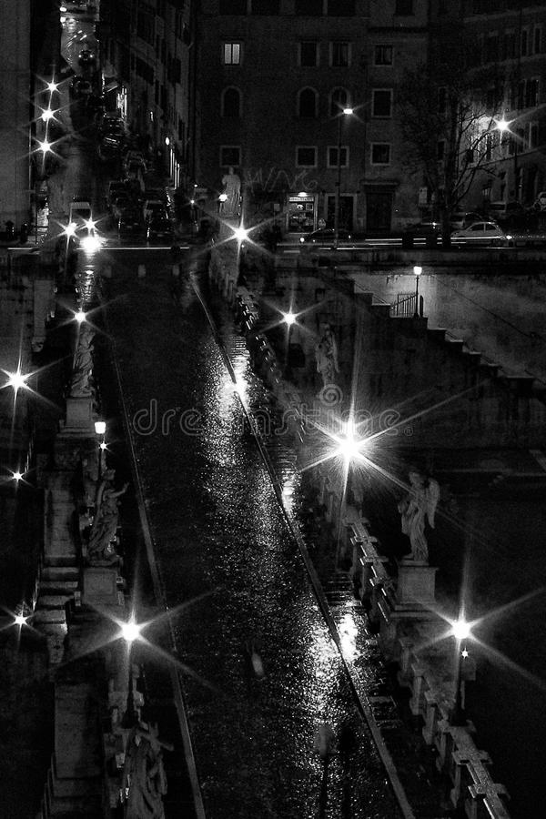Paysage urbain à Rome images libres de droits