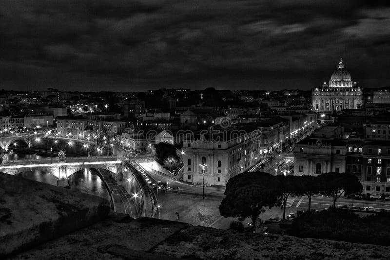 Paysage urbain à Rome images stock