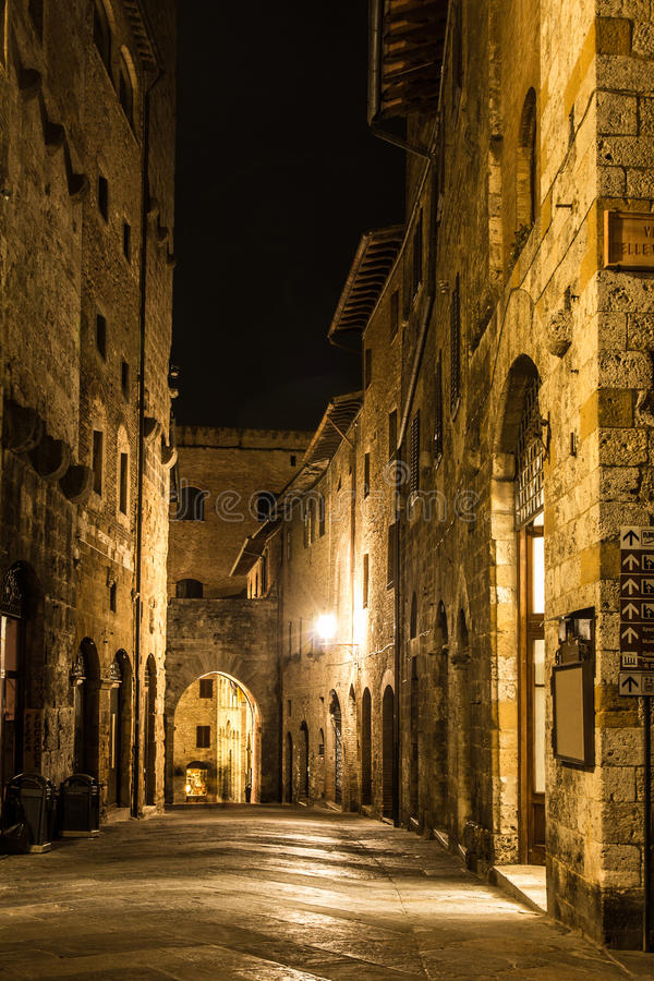 San Gimignano photo stock