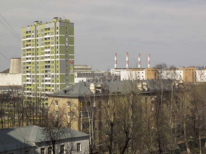 Paysage urbain, belle zone urbaine Premi?re source photographie stock
