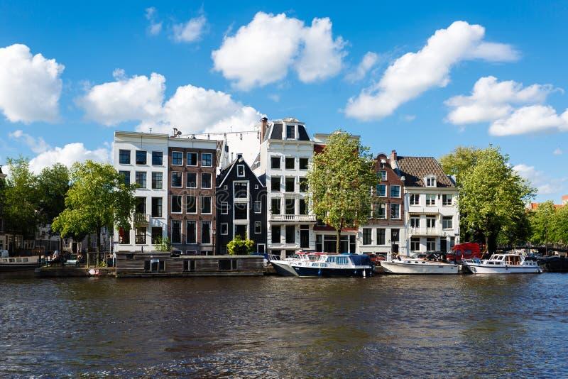 Paysage urbain d'Amsterdam photos stock