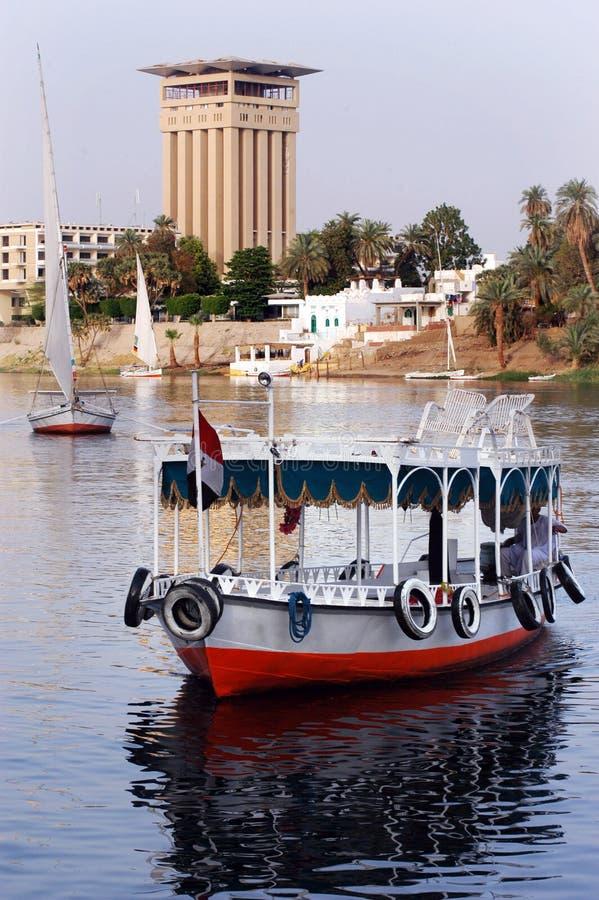 Paysage urbain d'Aswan photos libres de droits