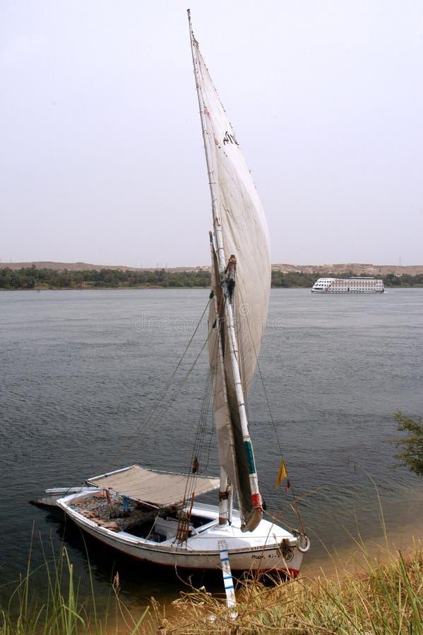 Paysage urbain d'Aswan photographie stock