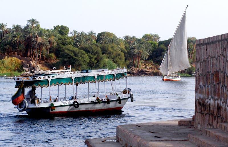 Paysage urbain d'Aswan photographie stock libre de droits