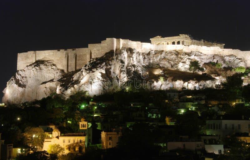 Paysage urbain d'Athènes photographie stock libre de droits