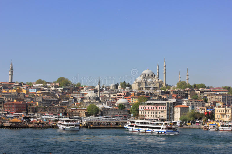 Paysage urbain d'Istanbul, Turquie photographie stock