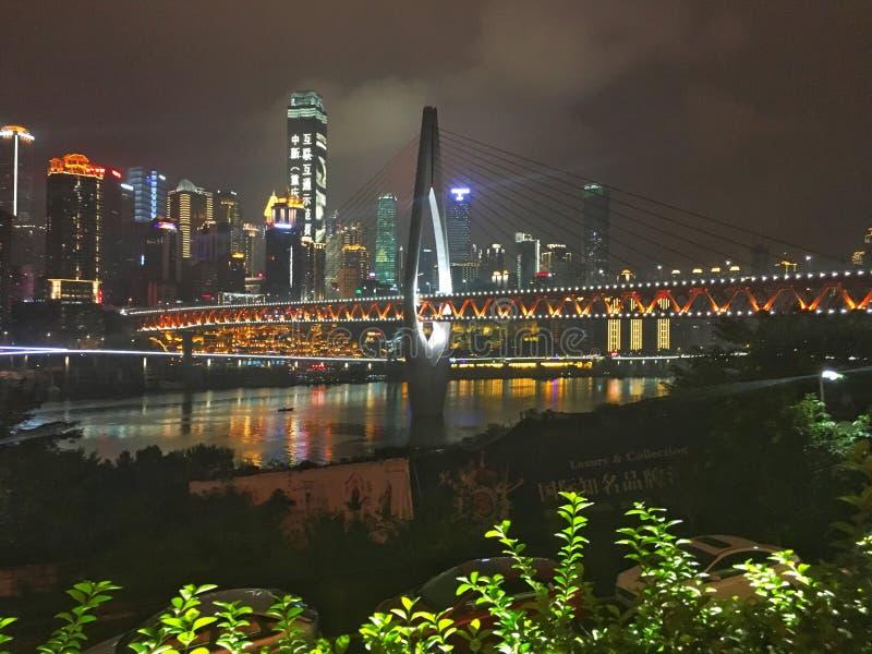 paysage urbain de ¼ Œchina d'ï de Chongqing photographie stock libre de droits