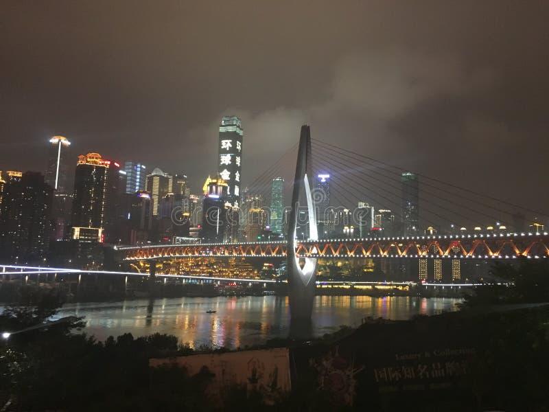 paysage urbain de ¼ Œchina d'ï de Chongqing images stock