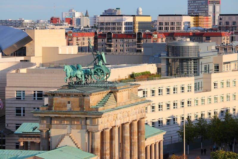 Paysage urbain de Berlin, Allemagne images stock