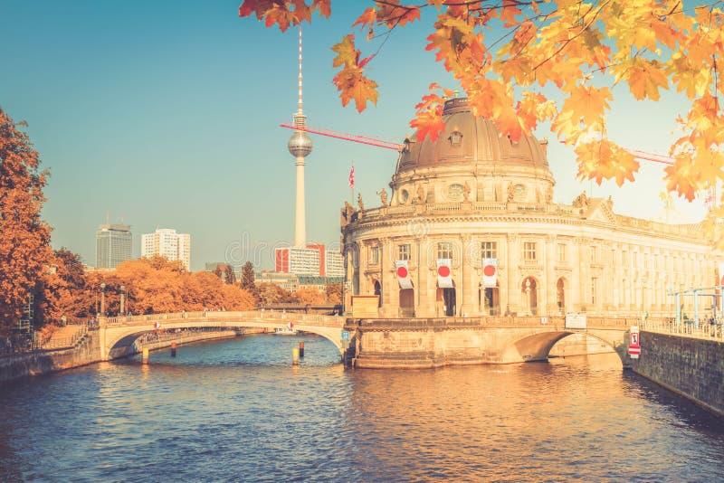 Paysage urbain de Berlin, Allemagne images libres de droits