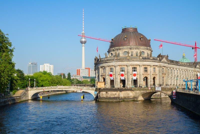 Paysage urbain de Berlin, Allemagne photo libre de droits