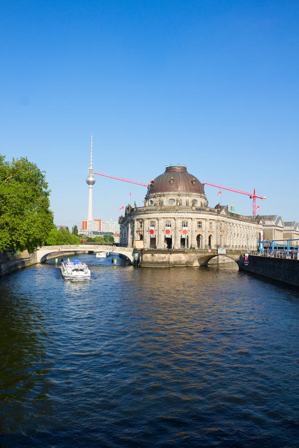 Paysage urbain de Berlin, Allemagne image stock
