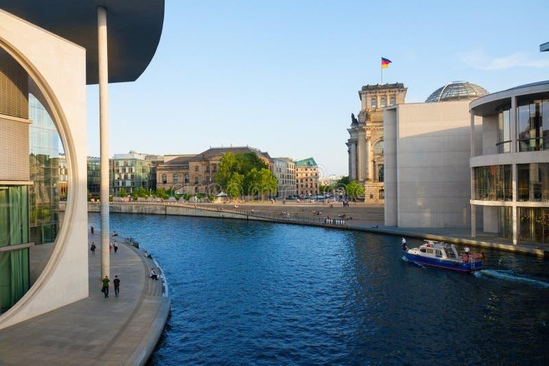 Paysage urbain de Berlin, Allemagne photos stock