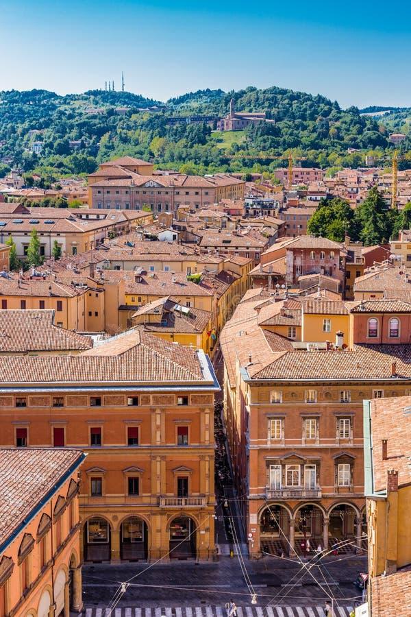 Download Paysage urbain de Bologna photo stock. Image du cityscape - 77163266