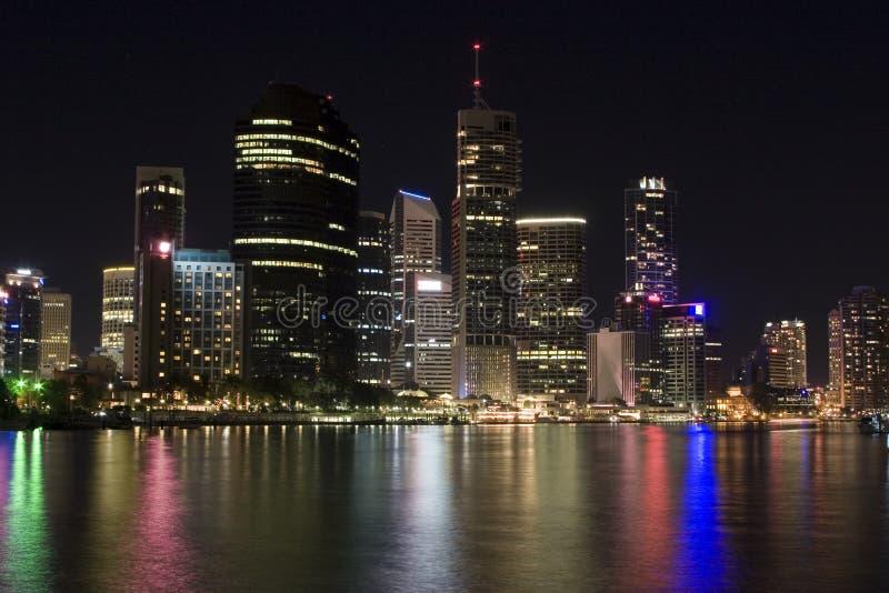 Paysage Urbain De Brisbane Photographie stock libre de droits
