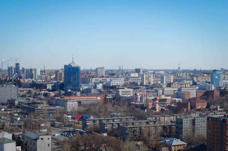 Paysage urbain de Chelyabinsk photos libres de droits