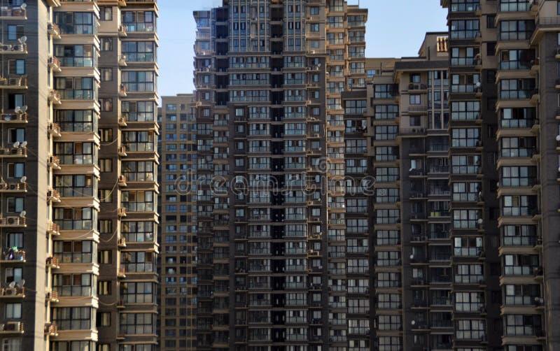 Paysage urbain de Chengdu, Chine photos libres de droits